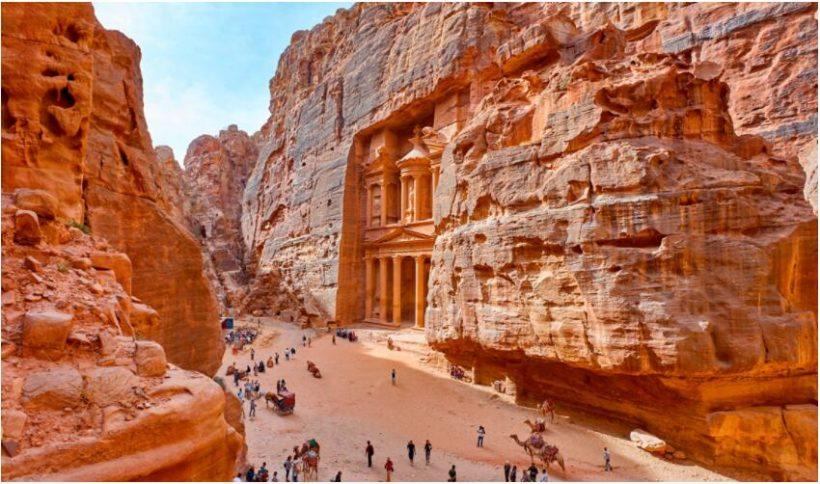 Before the trip to Jordan
