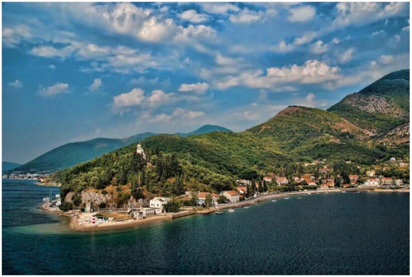 Montenegro Coastline near Kotor