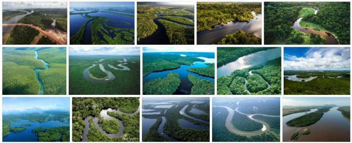 Brazilian river basin