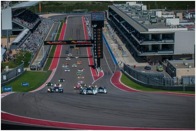 Race on the Circuit of the Americas